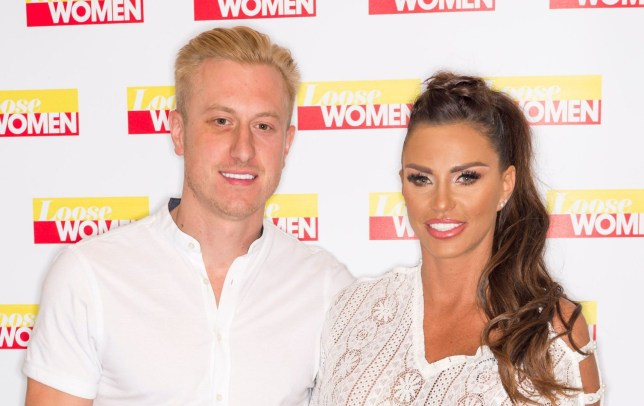 Editorial use only Mandatory Credit: Photo by Ken McKay/ITV/REX/Shutterstock (9766456cp) Kris Boyson and Katie Price 'Loose Women' TV show, London, UK - 20 Jul 2018 Celeb chat: Katie asks the panel for advice! After the break, Katie will be clearing up even more rumours and telling us all about her new man, Kris Boyson. She'll be telling us about her plans for the future and seeking the panel's advice on how to move on from her heartbreak.
