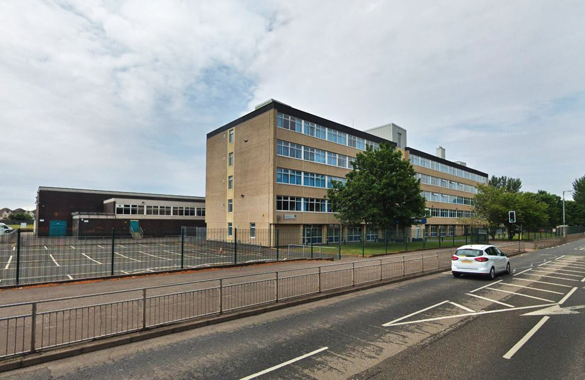 Irvine Royal Academy is a six-year non-denominational secondary school in Kilwinning Road, Irvine, North Ayrshire, Scotland