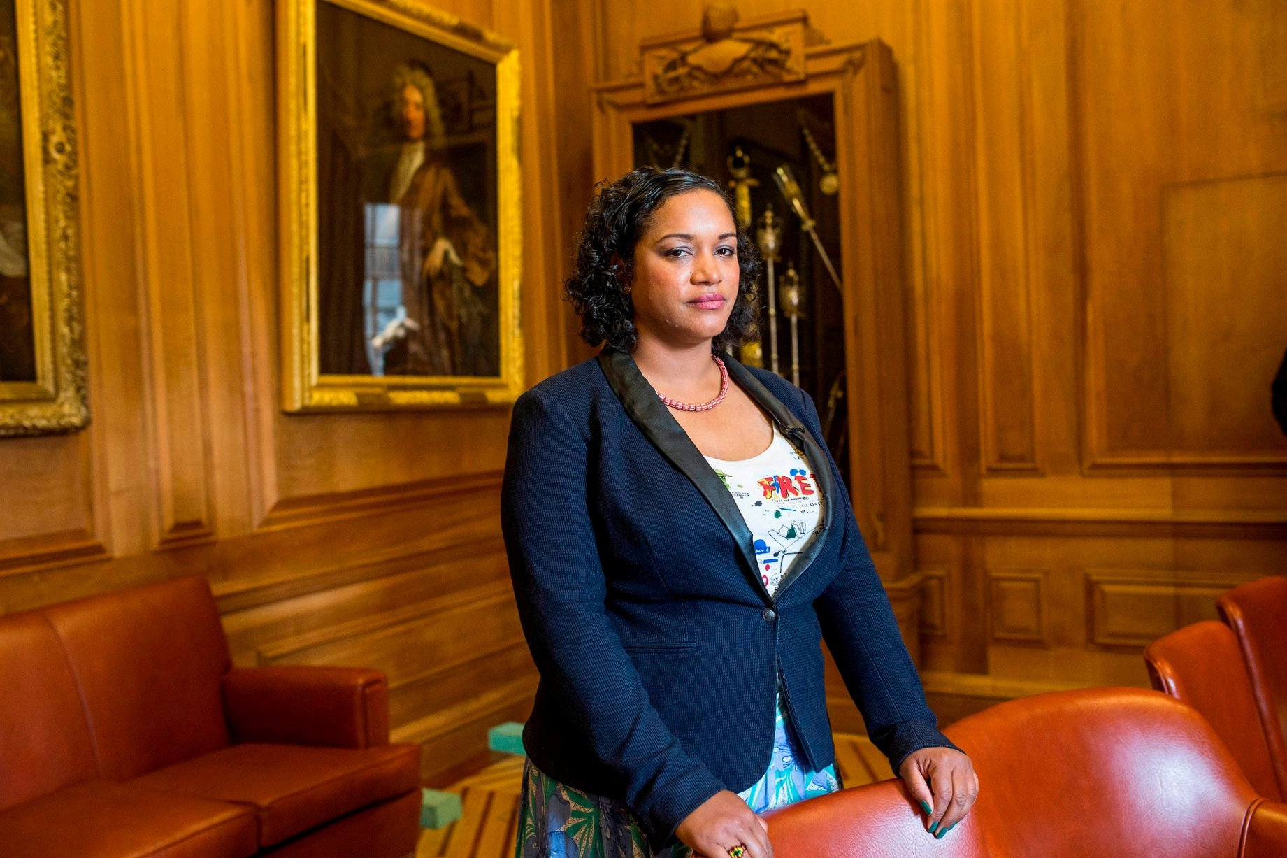 Lord Mayor removes second portrait from her office over slave trade links