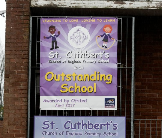 St Cuthberts C of E Primary school in Darwen, Lancashire has com under fire after setting Year Five students as young as nine homework to research if Father Christmas is real. See SWNS story SWLEsanta. A primary school has come under fire after setting pupils as young as nine homework to research if Father Christmas is REAL. St Cuthbert?s Church of England Primary has been accused of taking ?away the magic of Christmas? by casting doubt on the existence of Santa Claus. Pupils were set the homework last week which was then followed by a classroom debate on the question on Monday ? despite several protests from outraged parents. One mother, who did not wish to be named, said: ?This has caused a lot of upset.