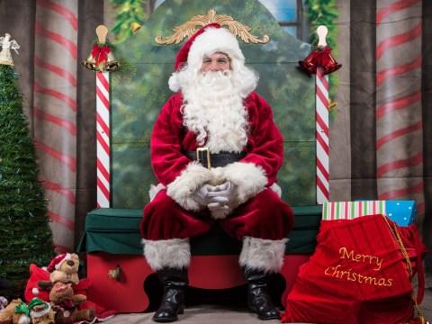 Is only hiring male Santa impersonators discrimination against women?