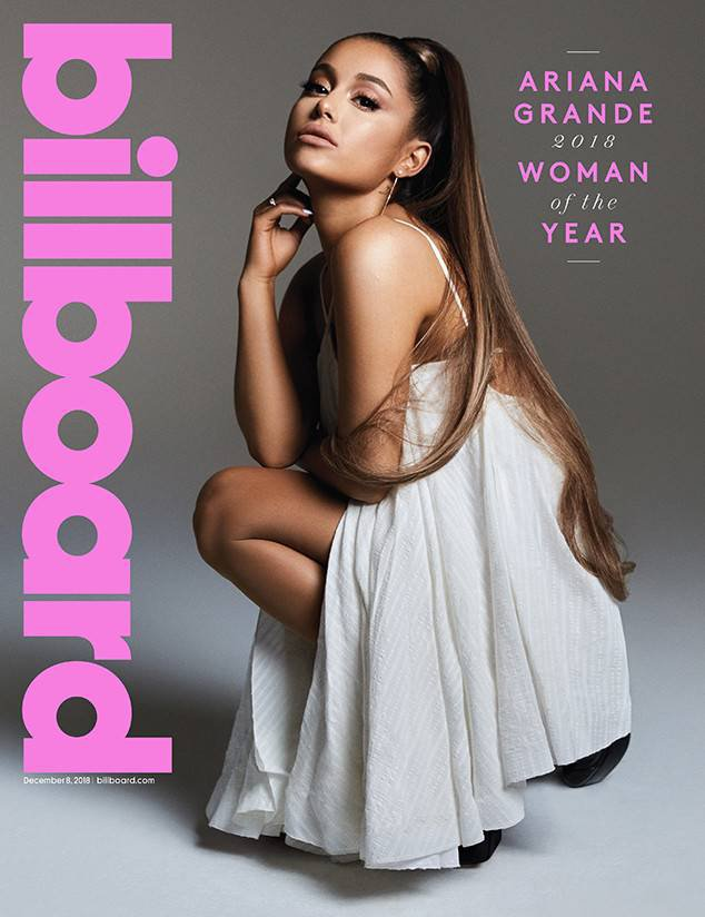 Ariana Grande Steps out in NYC as she is named Billboard Woman of the Year picture; billboard METROGRAB