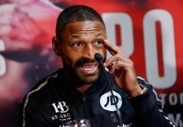 Boxing - Kell Brook & Michael Zerafa Press Conference - Bramall Lane, Sheffield, Britain - December 6, 2018 Kell Brook during the press conference Action Images via Reuters/Craig Brough