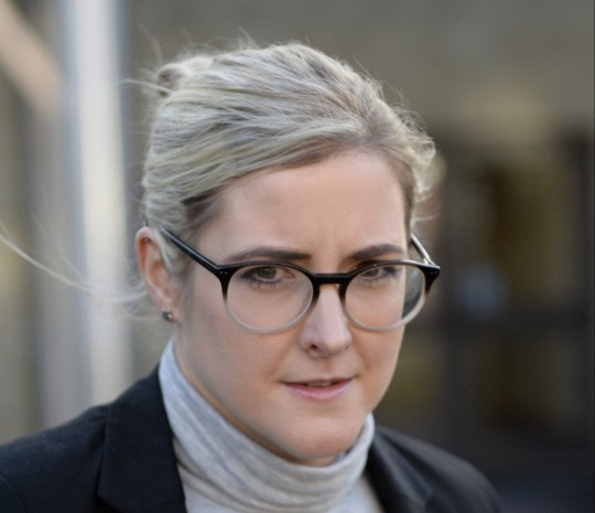 JK Rowling's former PA Amanda Donaldson at Airdrie Sheriff Court, Scotland, where she is being sued in a civil case after being accused of stealing ?24,000 from the writer. December 6, 2018. The Harry Potter writer claims Donaldson stole merchandise and used the company credit card to buy herself luxury goods.