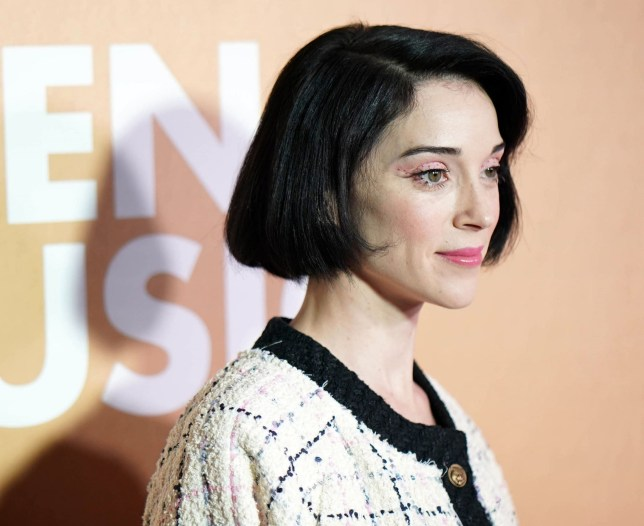 BGUK_1427227 - New York City, New - Celebrities attend Billboard's 13th Annual Women In Music Event at Pier 36 in New York City. Pictured: Anne Erin Clark, St. Vincent BACKGRID UK 6 DECEMBER 2018 BYLINE MUST READ: STARMAX / BACKGRID UK: +44 208 344 2007 / uksales@backgrid.com USA: +1 310 798 9111 / usasales@backgrid.com *UK Clients - Pictures Containing Children Please Pixelate Face Prior To Publication*