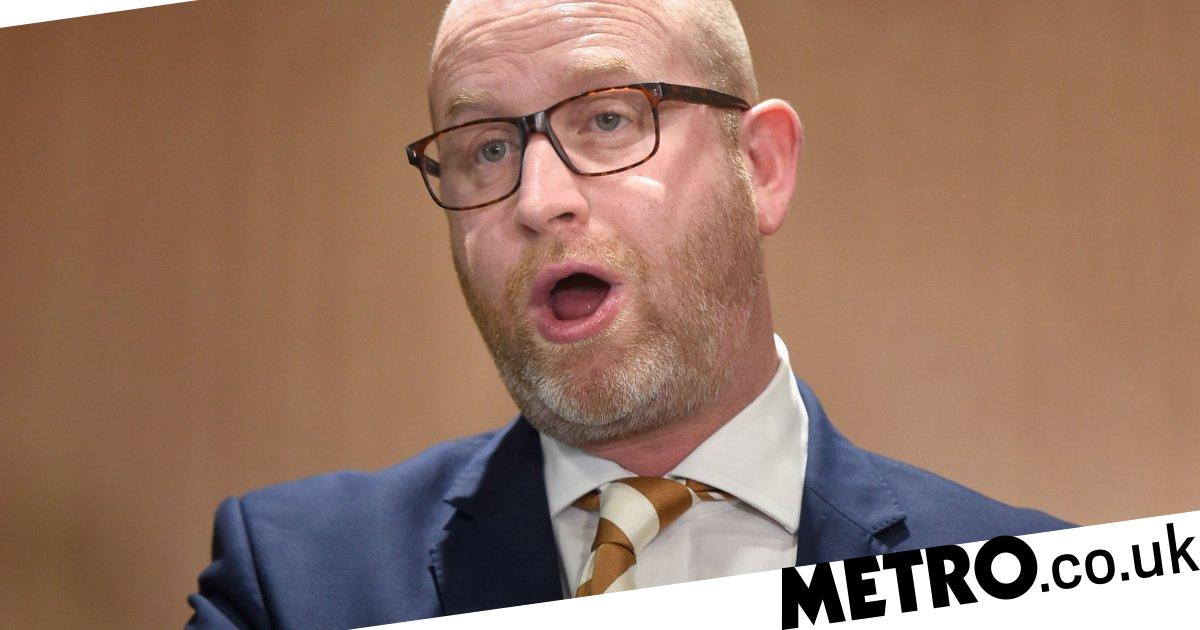 5e12771cc9f0 Former Ukip leader Paul Nuttall and MEP David Coburn quit over Tommy  Robinson