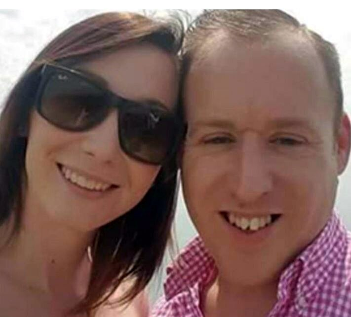 Sophie and Martin Cavanagh A jealous husband strangled his estranged wife to death after she refused his offer of ?100 to sleep with him one last time, a court heard. Martin Cavanagh, 35, allegedly throttled 31-year-old Sophie Cavanagh in a jealous rage at her Bromley flat on 19 May this year. The pair had earlier enjoyed a visit to Wingham Wildlife Park in Kent just hours earlier before going to the pub together to meet friends. Her lifeless body was found under a duvet in her bedroom the next day and her damaged mobile phone was found in the bin beside a pair of scissors. Central News