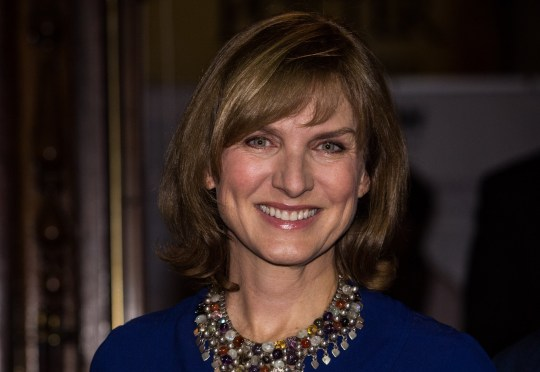 Mandatory Credit: Photo by James Gourley/REX/Shutterstock (6904581j) Fiona Bruce Angel Awards, Palace Theatre, London, UK - 31 Oct 2016