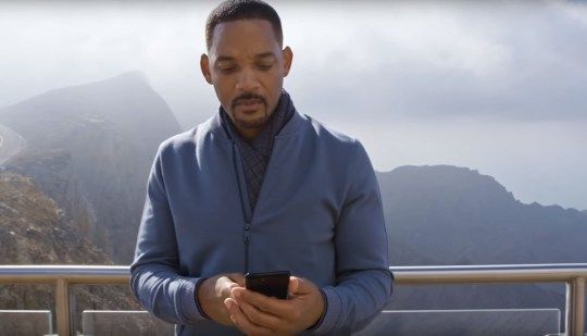 Will Smith in YouTube Rewind