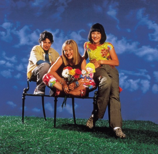 Television programme : Lizzie McGuire, actors and actresses not named. Copyright: Disney.