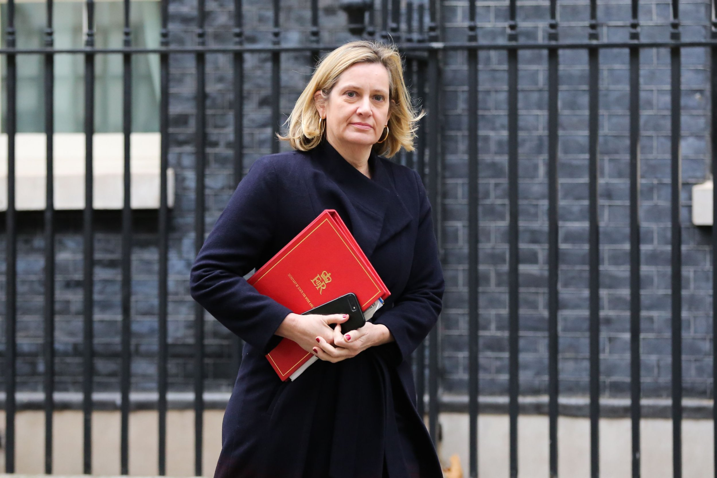 Mandatory Credit: Photo by Dinendra Haria/REX/Shutterstock (9993062c) Amber Rudd - Secretary of State for Work and Pensions Cabinet Meeting, London, UK - 26 Nov 2018