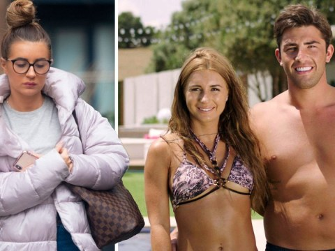 Dani Dyer looks downcast as she's spotted for first time since Jack Fincham split