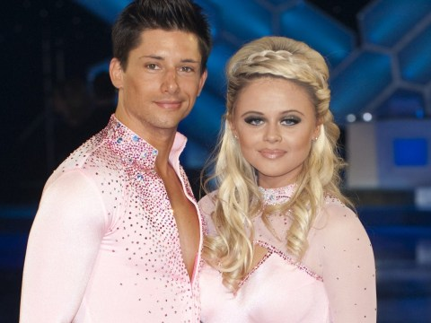 I'm a Celeb's Emily Atack 'had public showdown with Dancing on Ice pro's wife' accusing them of fling