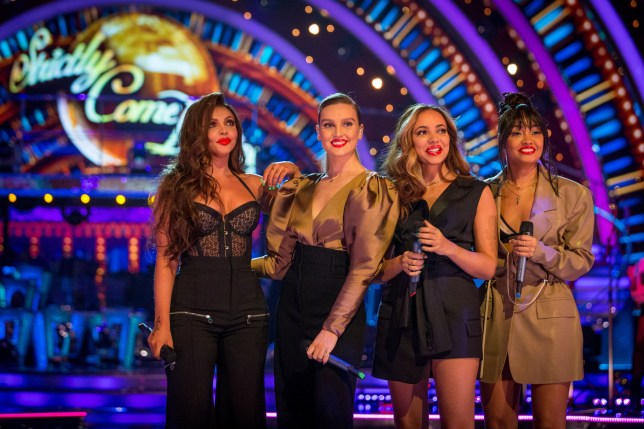 EMBARGOED UNTIL SUNDAY 9th DECEMBER 20:00:01 Little Mix on Strictly Provider: BBC