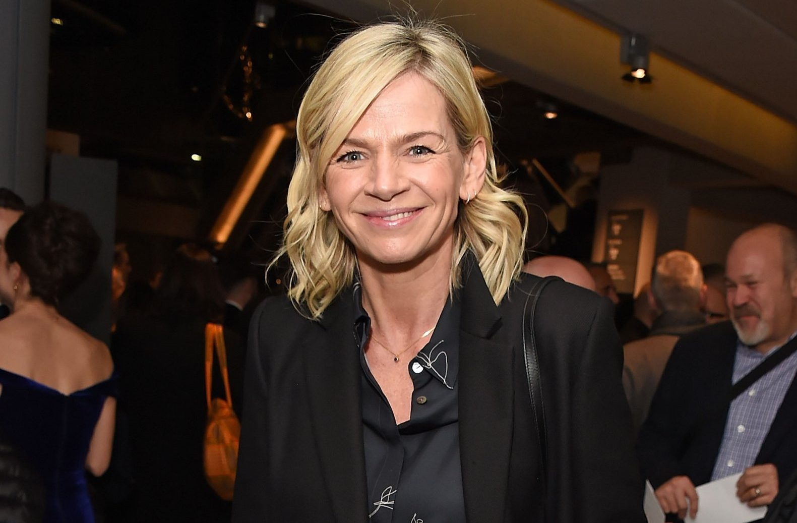 "LONDON, ENGLAND - DECEMBER 09: Zoe Ball attends the press night performance of ""Swan Lake"" at Sadlers Wells Theatre on December 9, 2018 in London, England. (Photo by David M. Benett/Dave Benett/Getty Images)"