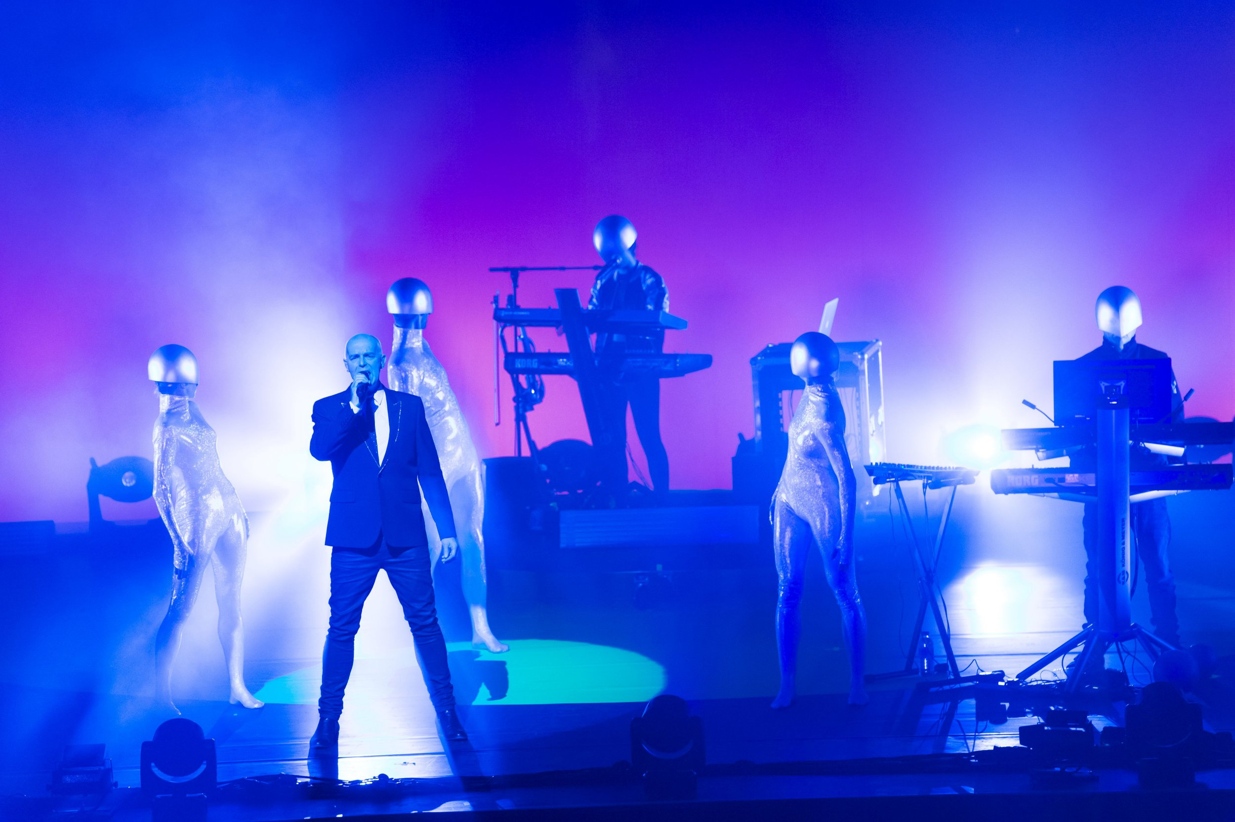 Exclusive - Editorial Use Only. No Merchandising. Pictures must not be archived and must be removed from your files on or before 20 Oct 2016 Mandatory Credit: Photo by Ken McKay/REX/Shutterstock (5777925i) The Pet Shop Boys Pet Shop Boys in concert on the first night of four sold-out shows at London's Royal Opera House, UK - 20 Jul 2016 Pet Shop Boys at the first night of four sold-out shows at London's Royal Opera House. Exclusive Images.
