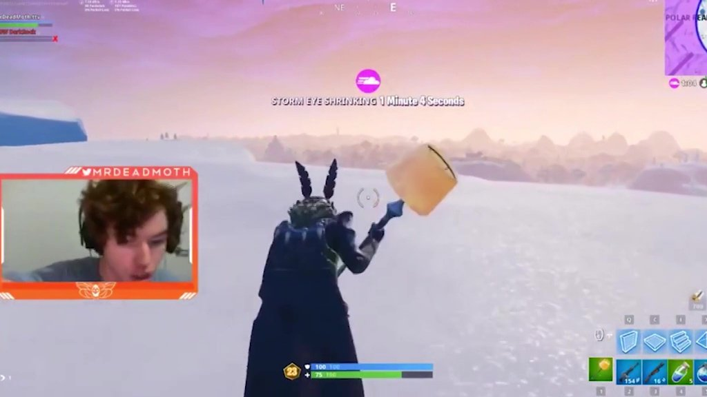 Fortnite streamer charged after being heard 'hitting woman' off-camera picture: NO CREDIT METROGRAB