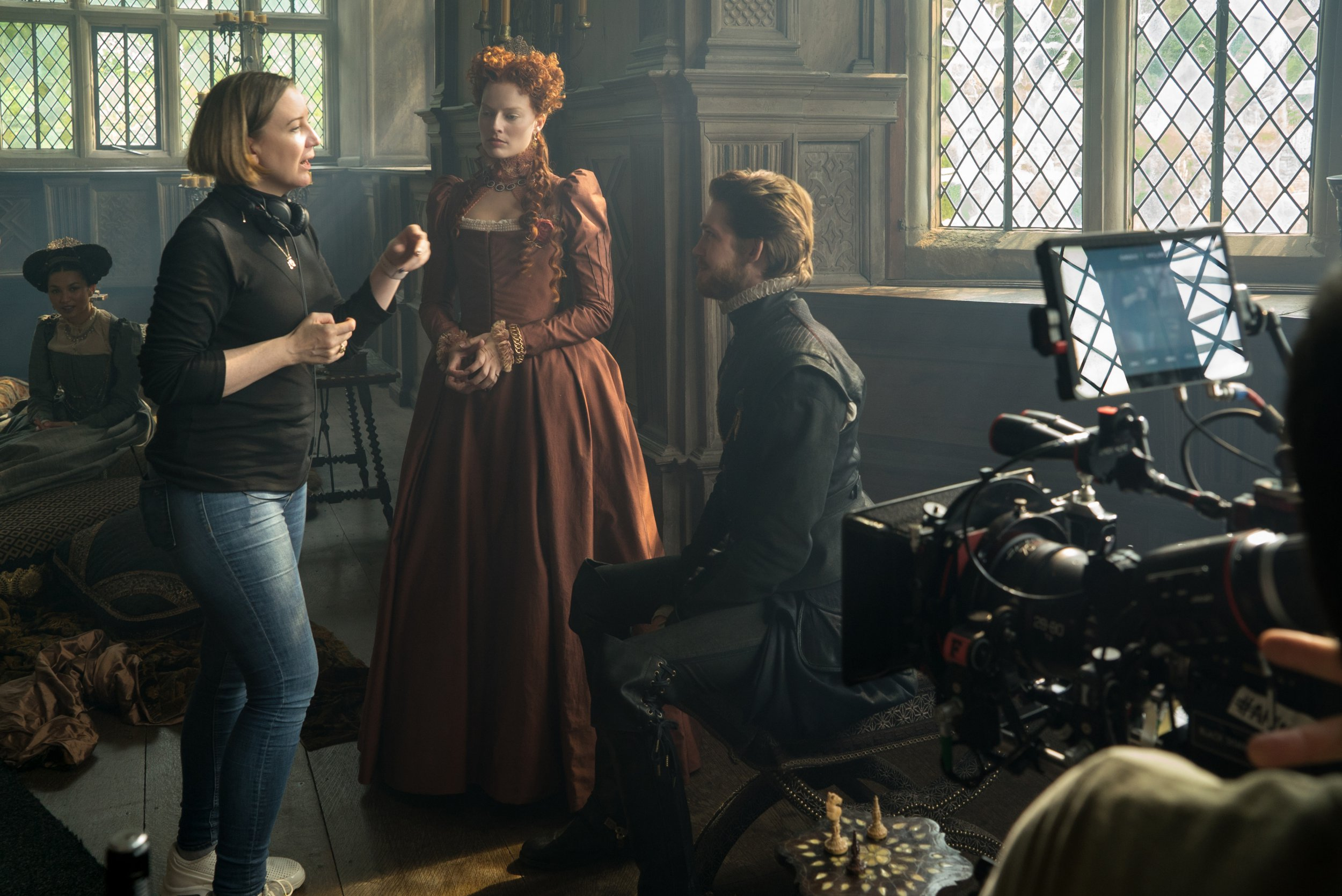 Mary Queen Of Scots director 'fought for a period in period movie' to normalise women's bodies on screen