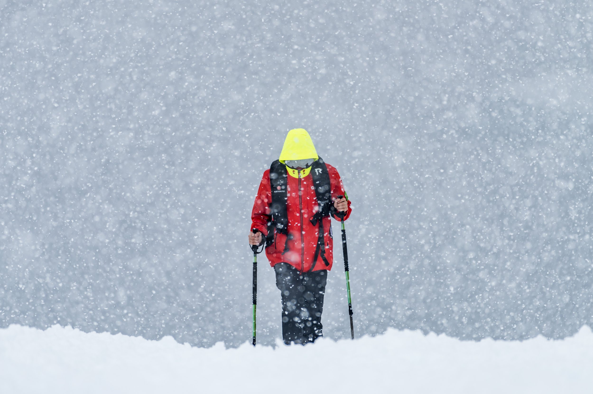 Weather in Antarctica is changing and it's snowing much more