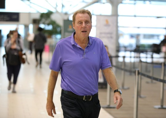 EXCLUSIVE: I'm a celebrity get me out of here contestants including winner Harry Redknapp are seen departing Australia after this years show. 11 Dec 2018 Pictured: Harry Redknapp,. Photo credit: MEGA TheMegaAgency.com +1 888 505 6342 (Mega Agency TagID: MEGA322790_035.jpg) [Photo via Mega Agency]