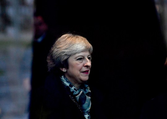 epa07223899 British Prime Minister Theresa May walks together with German Chancellor Angela Merkel (unseen) at the Chancellery in Berlin, Germany, 11 December 2018. British Prime Minister Theresa May postponed the Brexit deal Meaningful Vote, on 11 December 2018 due to risk of rejection from Members of Parliament. Theresa May is currently on a whistle stop tour of Europe calling on the leaders of the Netherlands, Germany and EU in Brussels looking for new guide lines for her Northern Ireland backstop. EPA/FILIP SINGER