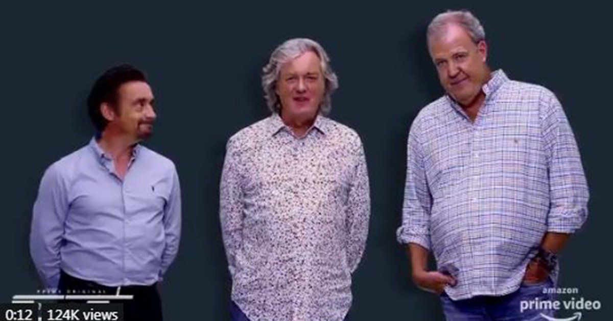Jeremy Clarkson, James May and Richard Hammond send miserable message to Grand Tour fans