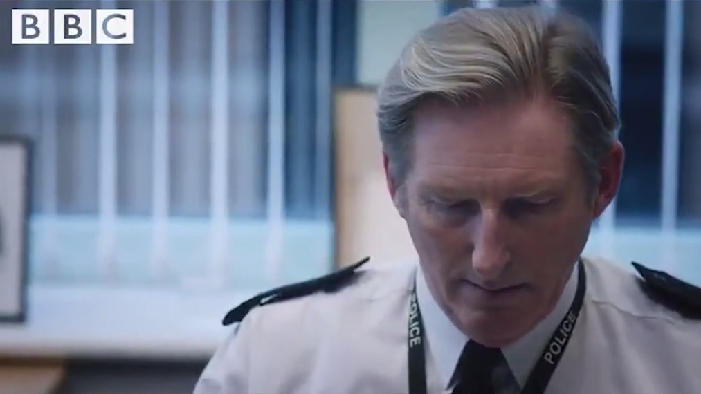 Is he a bad fella? Ted Hastings looks shifty in new look at Line Of Duty series five