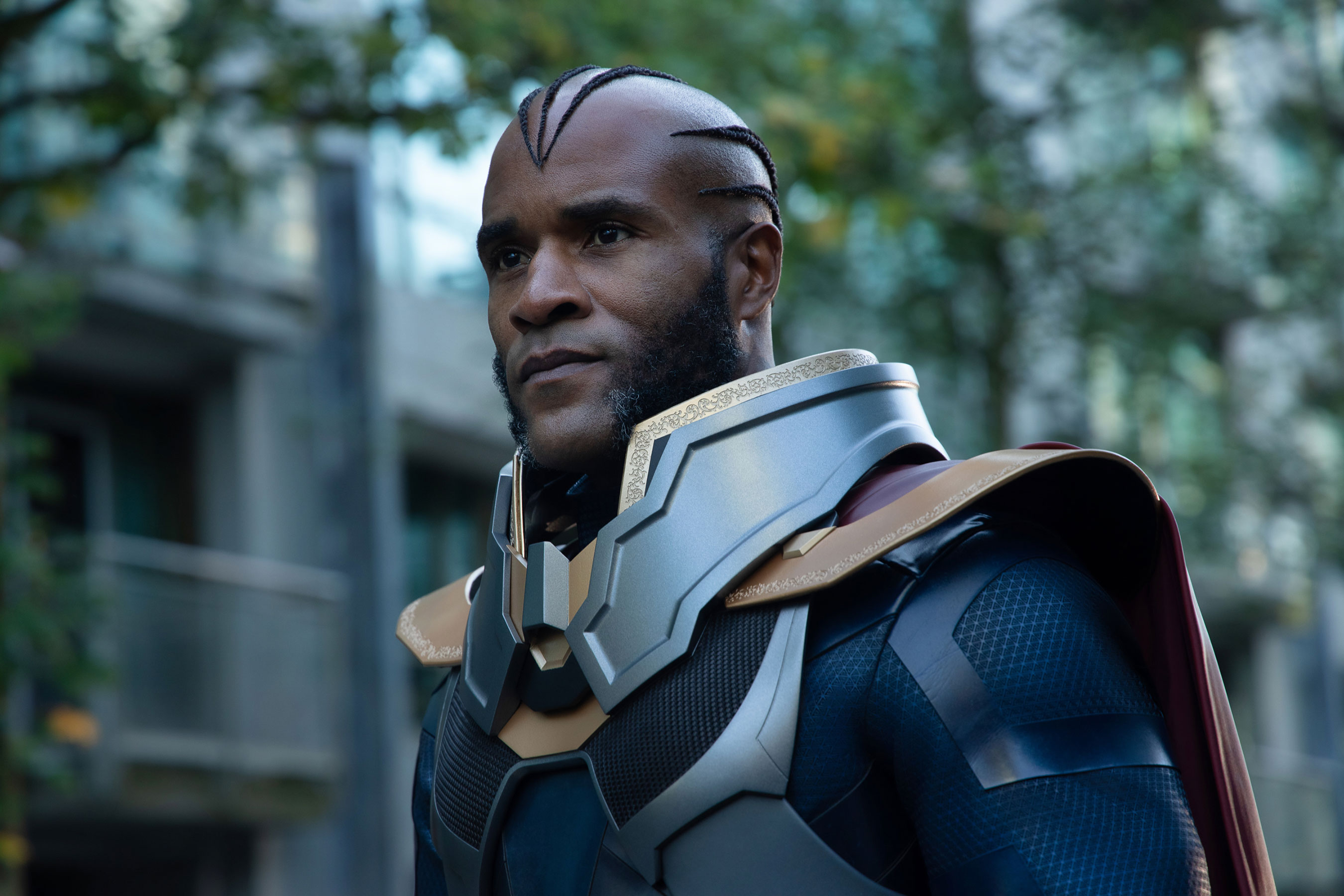 Elseworlds crossover star LaMonica Garrett on 'huge DC figure' the Monitor and his Arrowverse future