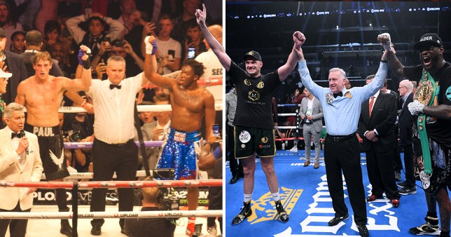 Picture: Getty Logan Paul compares himself and KSI to Fury and Wilder