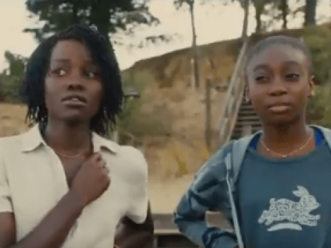 Lupita Nyong'o is the most terrifying version of herself in Jordan Peele's haunting Us movie trailer