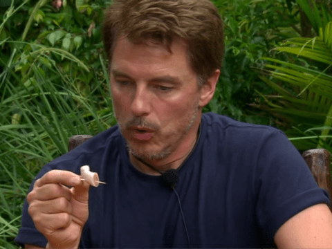I'm A Celebrity's John Barrowman left screaming as he eats bull's penis in final bushtucker trial