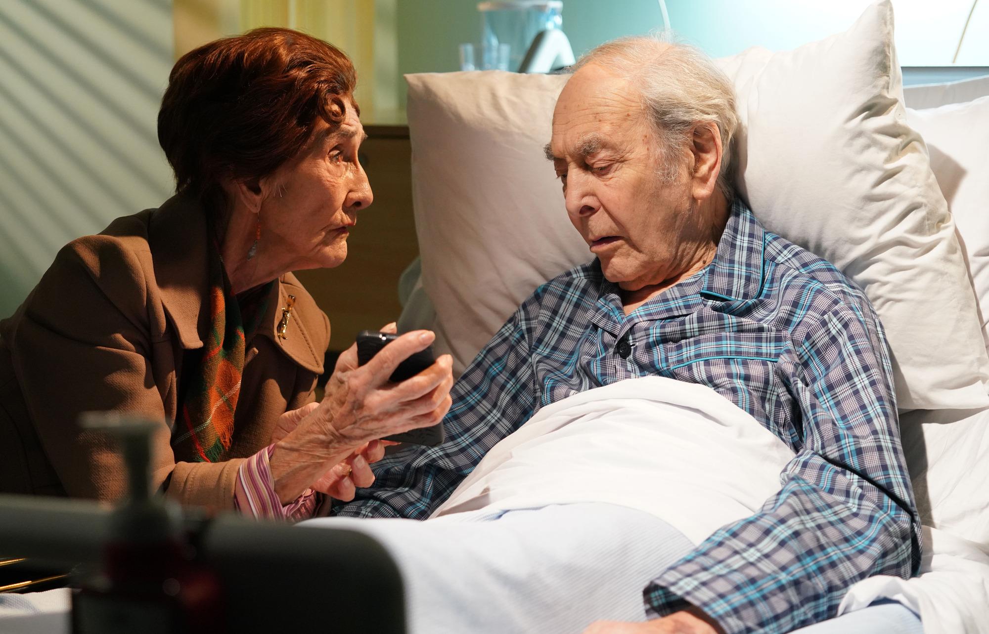 EastEnders spoilers: Dr Legg's devastating death scenes revealed in emotional episode