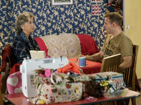 Who was Tyrone's mum in Corrie and what is Maureen Lipman's character Evelyn's secret?