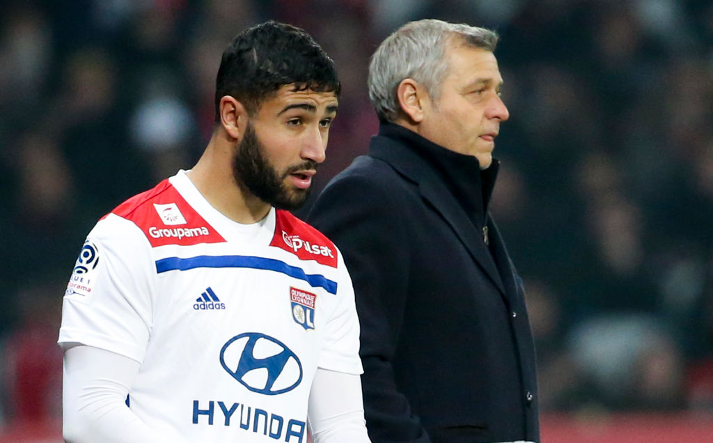 Chelsea fans sent into meltdown as Nabil Fekir is mysteriously left out of Lyon squad