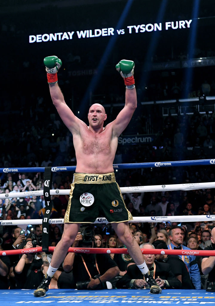 Tyson Fury wants Deontay Wilder and Anthony Joshua fights in 2019, says Frank Warren