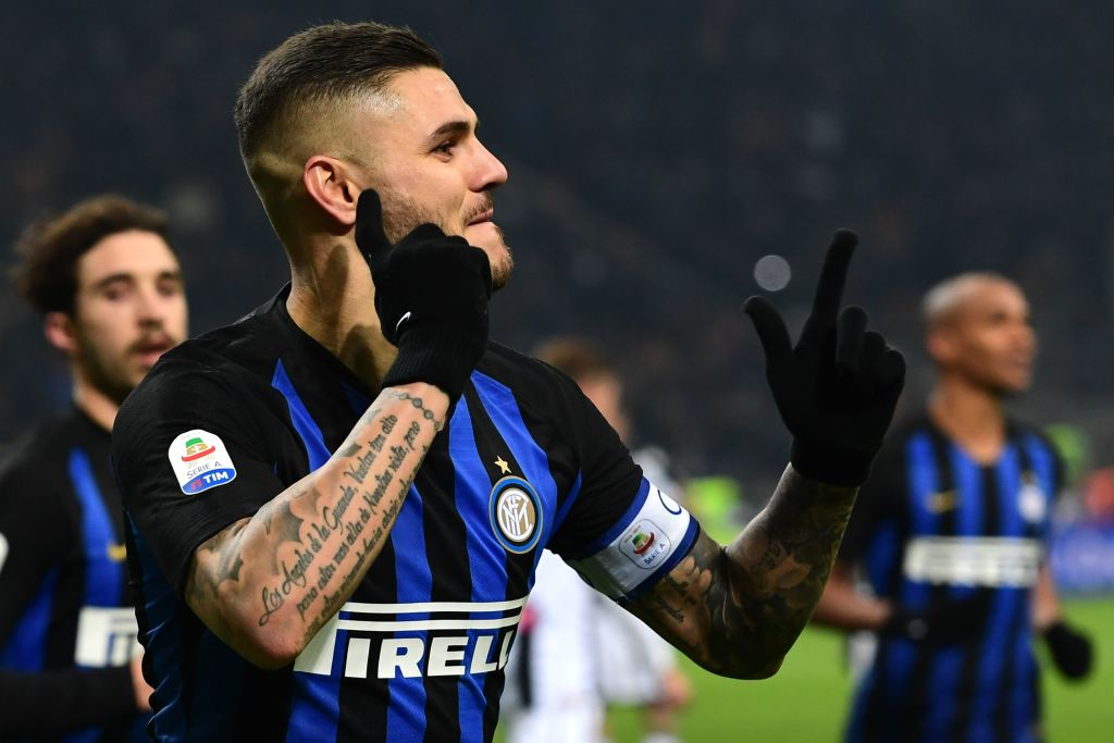 Mauro Icardi's agent drops Premier League transfer hint amid Chelsea links