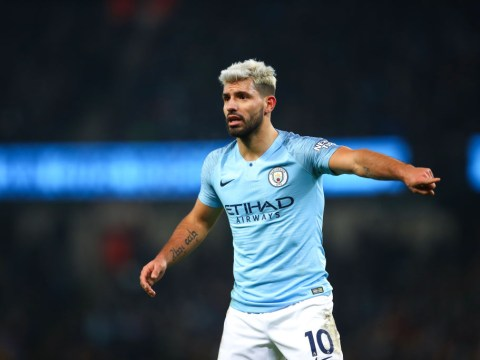 Why Sergio Aguero misses Manchester City v Burton Carabao Cup semi-final first leg