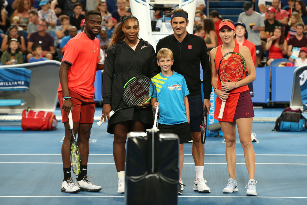 Roger Federer wins battle of the GOATs against Serena Williams