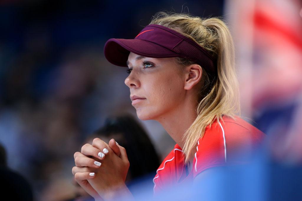 British tennis ace Katie Boulter links up with David Beckham and Neymar's agent