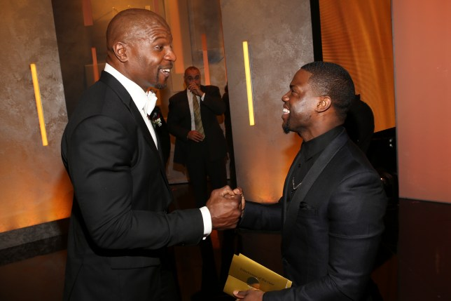 Terry Crews and Kevin Hart