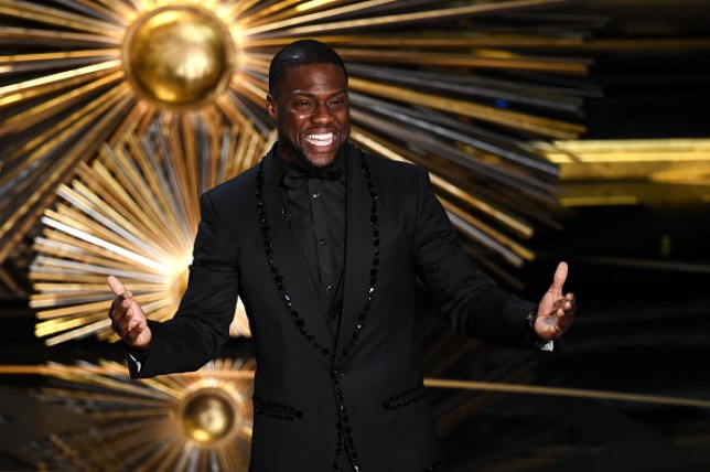 Comedian Kevin Hart who was supposed to host this year's Oscars