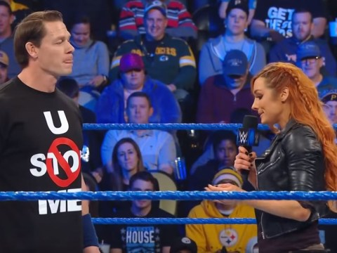 Becky Lynch burns John Cena over Nikki Bella split at WWE SmackDown Live and it's savage