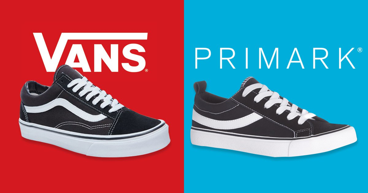 Vans is suing Primark for selling 'copies' of their trainers
