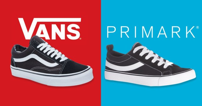 df1314be0bf1ff Vans is suing Primark for selling  copies  of their trainers