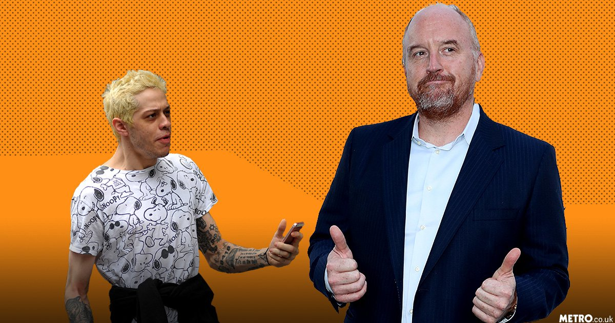 Pete Davidson claims Louis CK tried to get him fired from Saturday Night Live for smoking weed