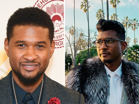 Usher reaches new heights with his quiff but not everyone is here for it