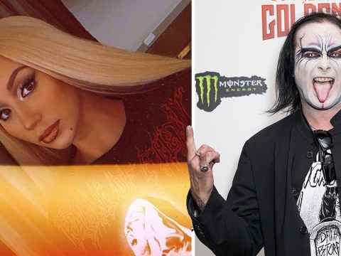 Cradle Of Filth are here for Iggy Azalea wearing their banned masturbating nun T-shirt
