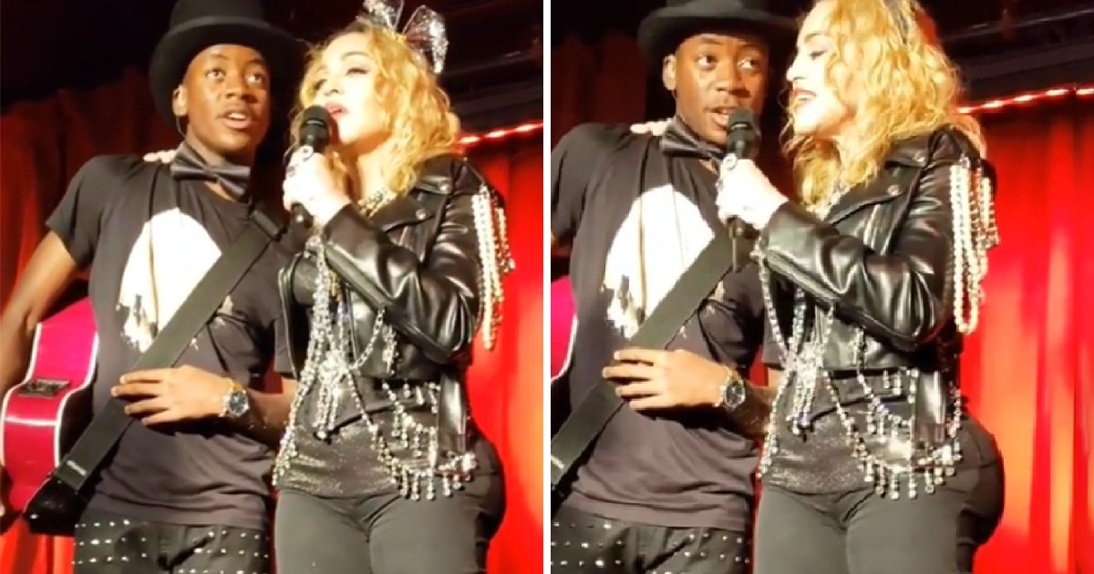 Madonna sparks butt implant rumours at NYE party – but were they just good pads?