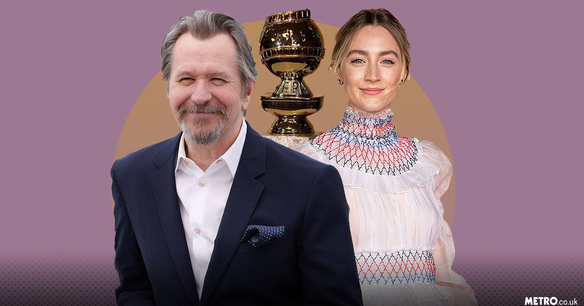 Gary Oldman and Saoirse Ronan will present awards at Golden Globes a year after winning
