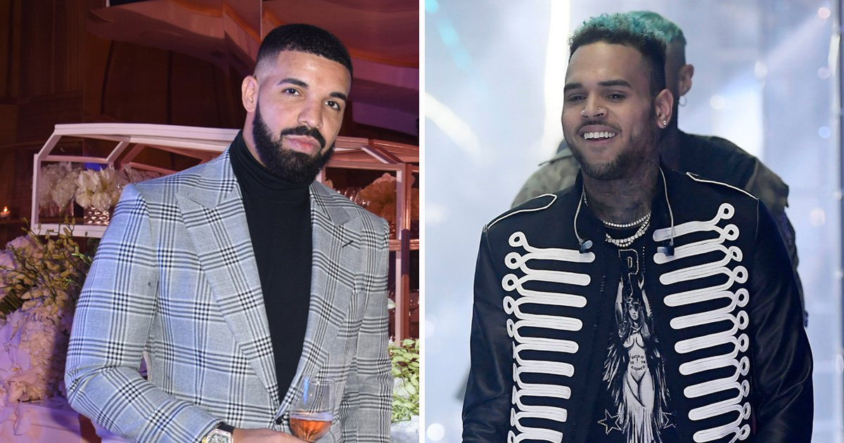 Drake and Chris Brown tease new music under ship name 'Aubreezy' as their bromance continues
